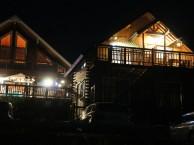 夜の別荘地